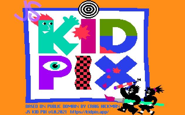 KidPix in JavaScript image